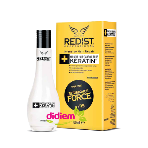ОЛИО ЗА КОСА С КЕРАТИН REDIST PROFESSIONAL MIRACLE HAIR CARE OIL PLUS KERATIN  -100мл