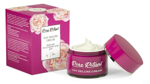 Натурален  дневен крем ROSE RITUAL DAY DELUXE CREAM - 50мл