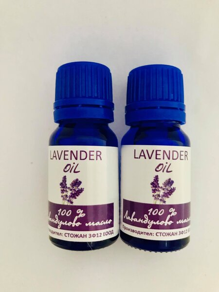 Лавандулово масло 100% Lavender oil 2x10ml