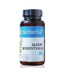 Супер формула за сън Sleep eseentials Bioherba 60 капсули